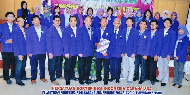 Pengurus Persatuan Dokter Gigi Indonesia
